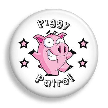 Piggy Patrol (pin)