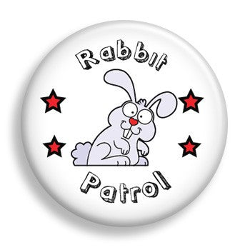 Rabbit Patrol (pin)