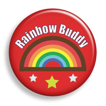 Rainbow Buddy (pin)
