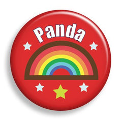 Pin - Rainbow Nametag (pin)