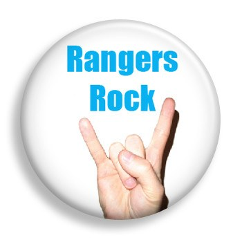 Pin - Rangers Rock (pin)