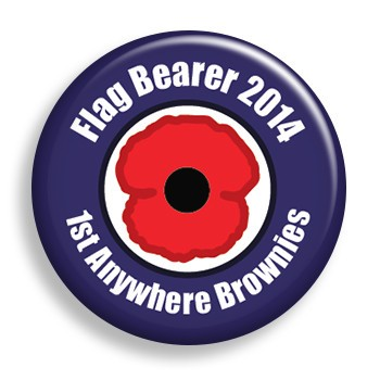 Remembrance Flag (pin)
