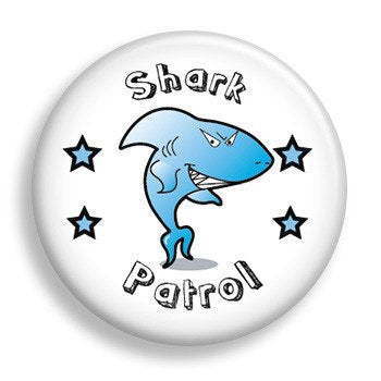 Shark Patrol (pin)