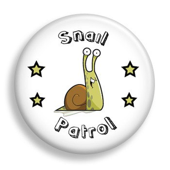 Pin - Snail Patrol (pin)