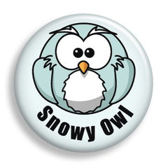 Pin - Snowy Owl (pin)