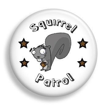 Squirrel Patrol (pin)