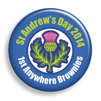 St. Andrew's Day (pin)
