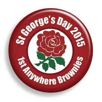 St. George's Day (pin)