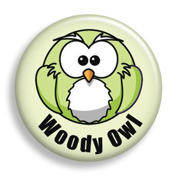 Woody Owl (pin)