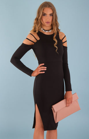 Emilia Long Sleeve Bodycon Dress