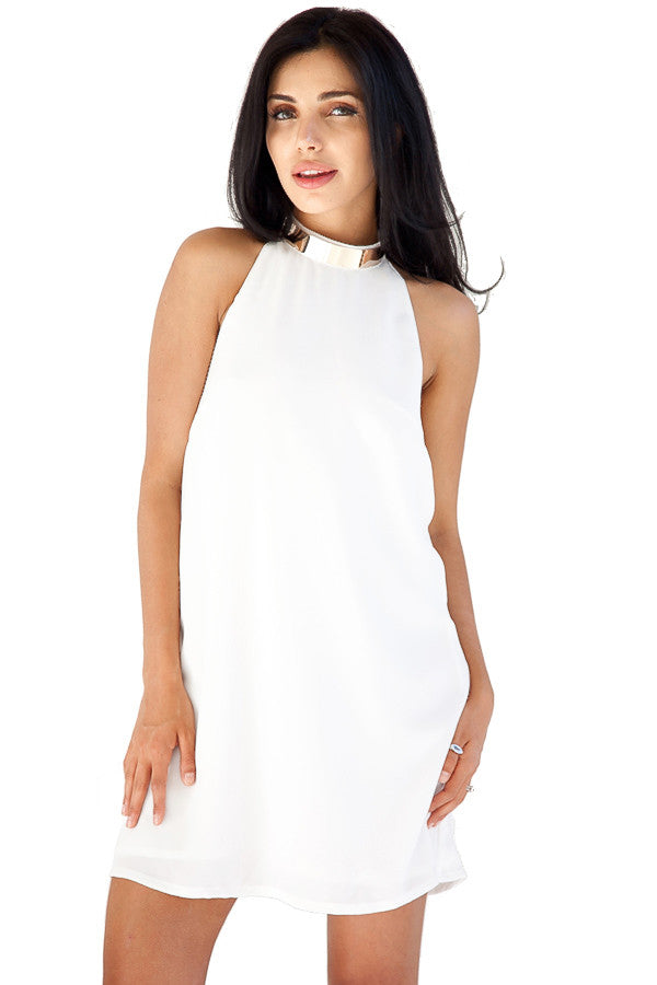 Reckless Mini Dress Ivory