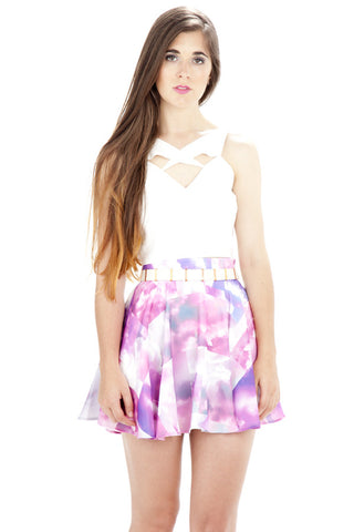 Up In The Clouds Skirt