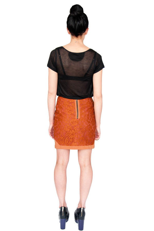 Beyond the Law Lace Mini Skirt - Final Sale