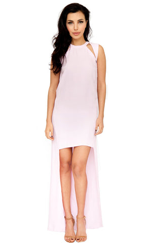 Drop Back Cut Out Dress