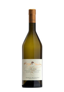 Collio Doc Ribolla By Ronco Blanchis (Italian White Wine)