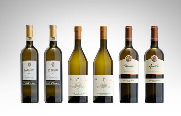 smart white wine italian selection