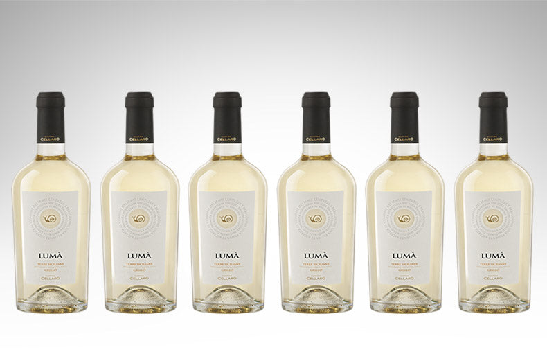 Grillo Lumà by Cantine Cellaro (Case of 6 - Italian White Wine)