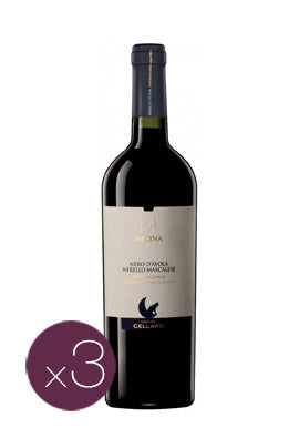 Nerello Mascalese Micina by Cantine Cellaro (Case of 3 - Italian Red Wine)