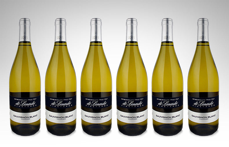 Sauvignon Blanc by Di Lenardo (Case of 6 - Italian White Wine)