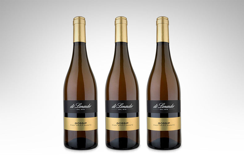 Pinot Grigio Ramato 'Gossip' by Di Lenardo (Case of 3 - Italian White Wine)