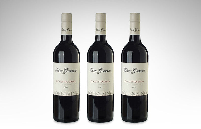 Dolcetto d'Alba DOC Lorenzino by Ettore Germano (Case of 3 - Italian Red Wine)