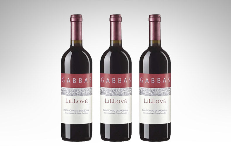 Cannonau di Sardegna Lillové by Gabbas (Case of 3 - Italian Red Wine)