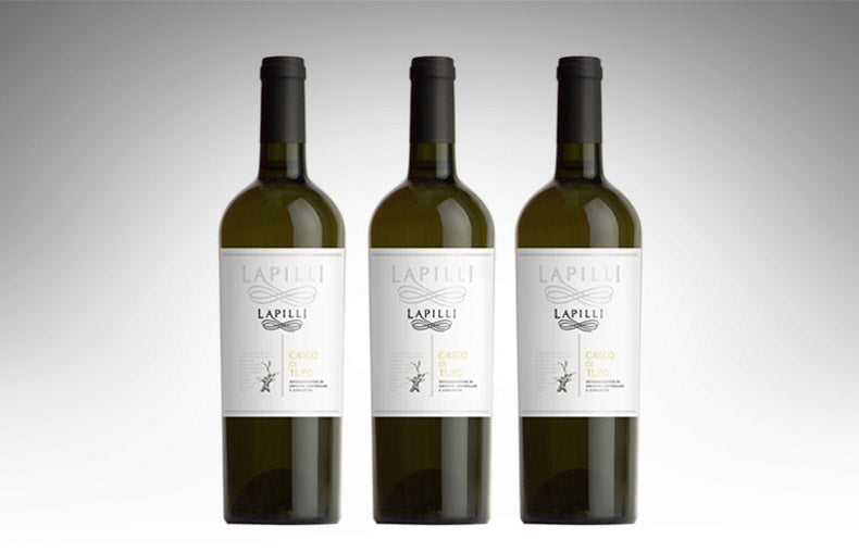 Greco di Tufo by Lapilli (Case of 3 - Italian White Wine)