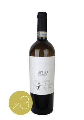 Fiano di Avellino by Lapilli (Case of 3 - Italian White Wine)