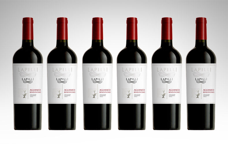 Aglianico Beneventano  IGT by Lapilli (Case of 6 - Italian Red Wine)
