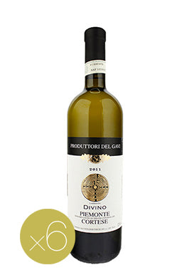 Cortese Divino by Produttori del Gavi (Case of 6 - Italian White Wine)