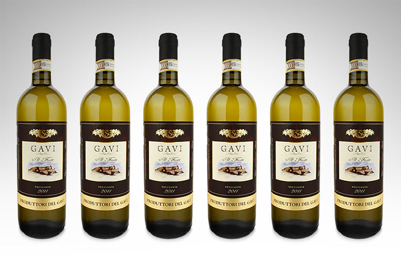 Gavi il Forte by Produttori del Gavi (Case of 6 - Italian White Wine)
