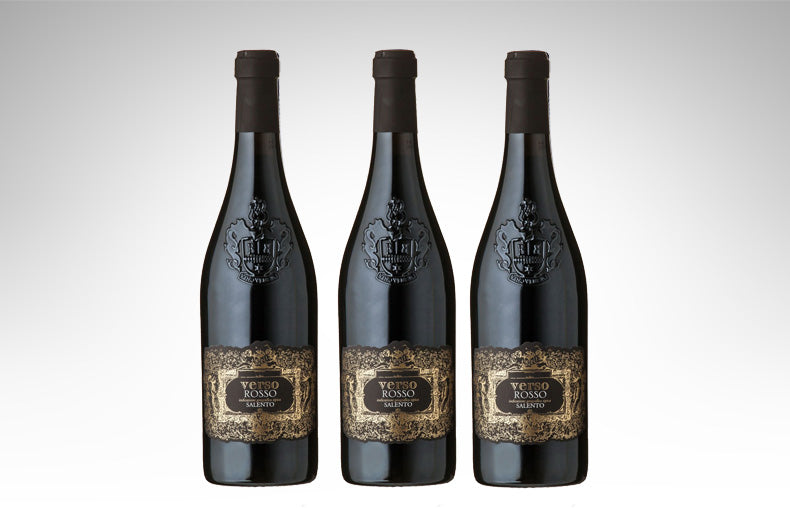 Verso Rosso Salento IGT (Case of 3 - Italian Red Wine)