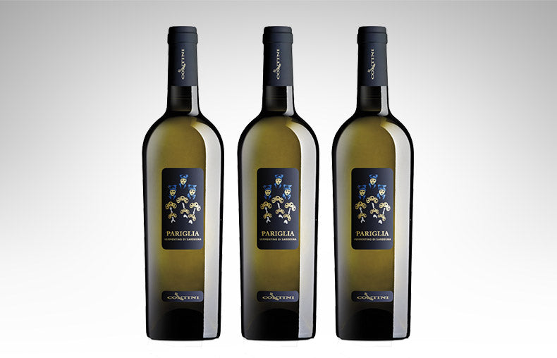 "Vermentino di Sardegna ""Pariglia"" by Contini (Case of 3 - Italian White Wine)"