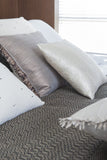 Leather Feather Brown • Pillow - Studio RUF • Luxurious Throws Pillows Bedcovers • Handmade in Morocco - 5