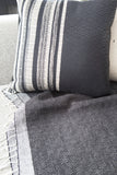 Black Beauty • Throw - Studio RUF • Luxurious Throws Pillows Bedcovers • Handmade in Morocco - 4