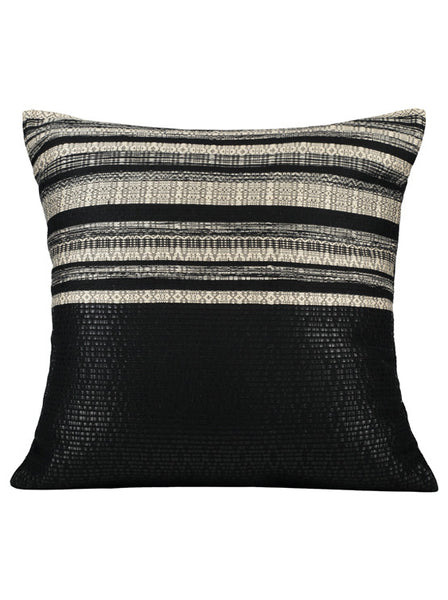 Black & White Diva • Pillow - Studio RUF • Luxurious Throws Pillows Bedcovers • Handmade in Morocco - 1