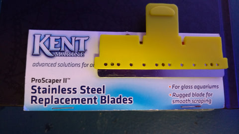 Kent Marine- Stainless Steel Replacement Blades