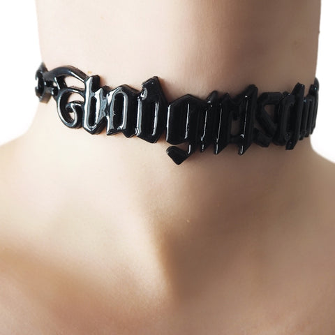 3D Bad girls club choker