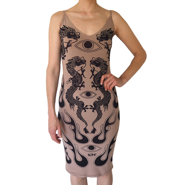 Dragon tattoo dress