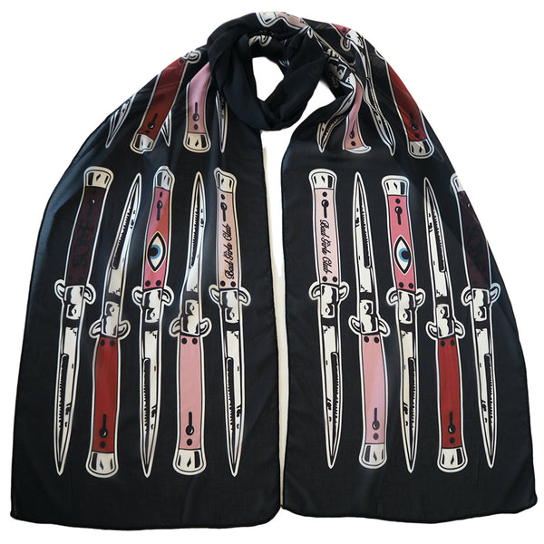 Switchblade scarf