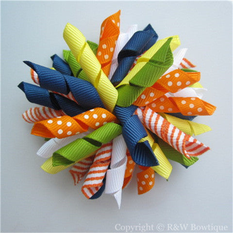 A Taste of Capri Korker Hair Bow
