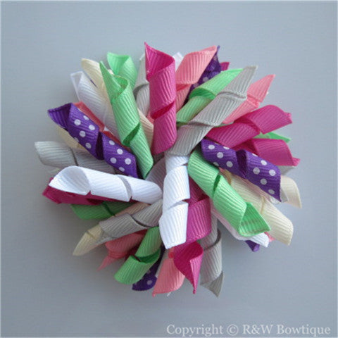 A Winters Walk Korker Hair Bow