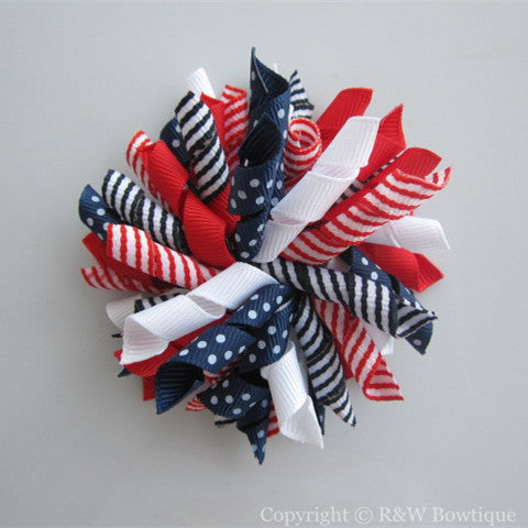 All American Style Korker Hair Bow