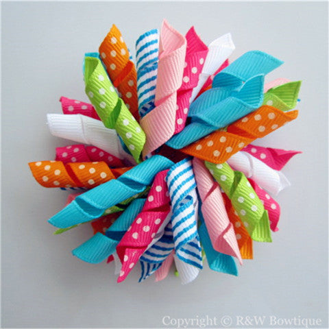 Baby Seahorse Korker Hair Bow