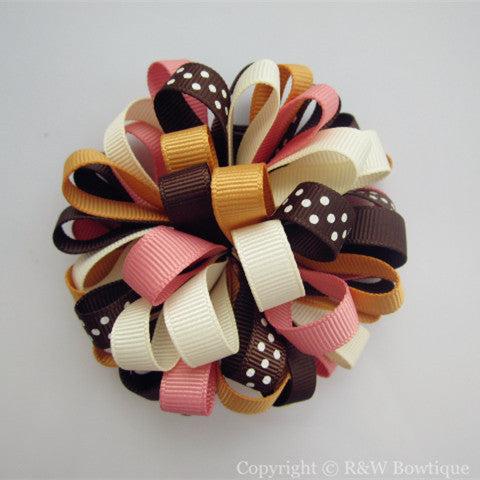 Back to Preschool Loopy Hair Bow