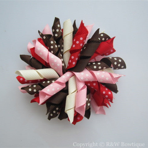 Back to School Korker Hair Bow
