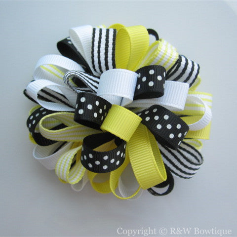 Bee Chic Loopy Hair Bow
