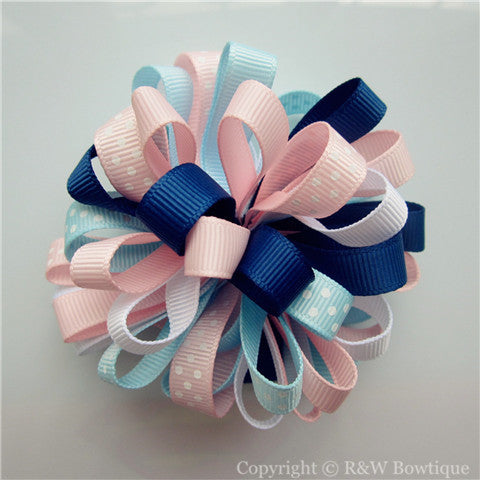 Bubbly Baby Loopy Hair Bow