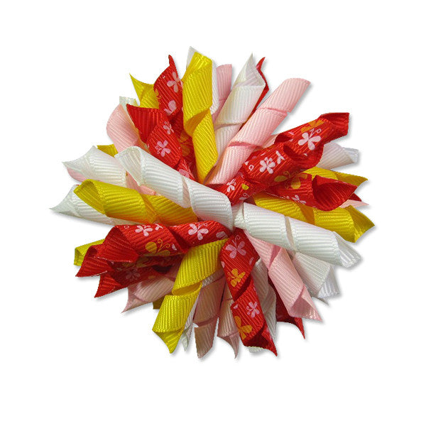 Butterfly Red Korker Hair Bow