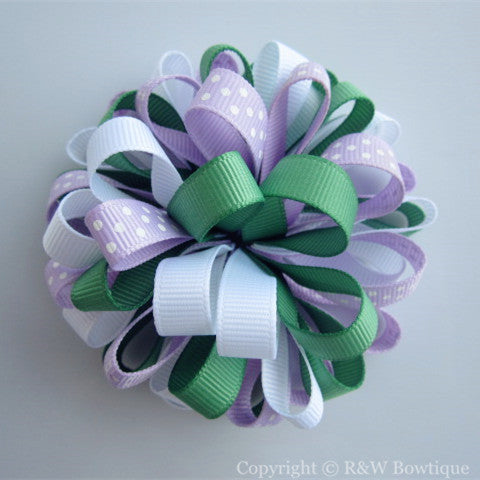 Castle Princess Loopy Hair Bow
